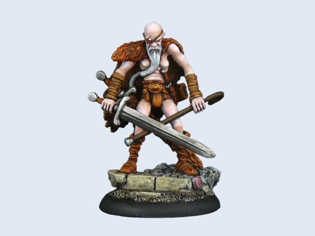 Discworld Miniature Cohen the Barbarian (1)