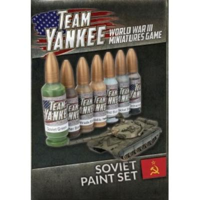 Team Yankee Soviet Paint Set (7 paints)