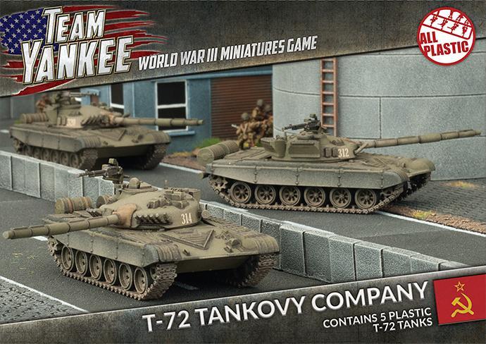 T-72 Tank Company (x5) (Plastic)