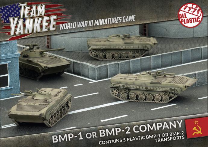 BMP-1/BMP-2 Company (x5) (Plastic)