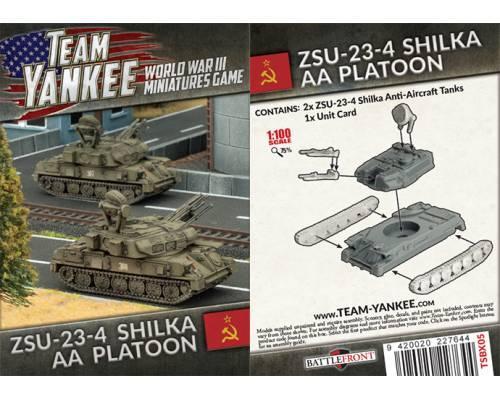 ZSU 23-4 Shilka AA Tank (x2)