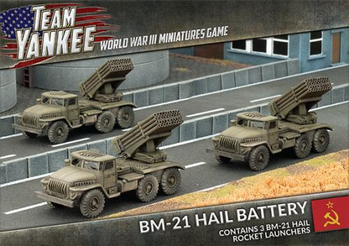 BM-21 Hail Rocket Launcher (x3)