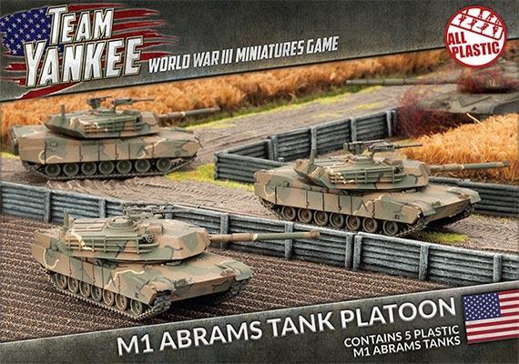 M1 Abrams Tank Platoon (x5) (Plastic)