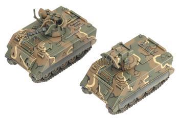 M163 VADS/M901 ITV Platoon (x4) (Plastic)