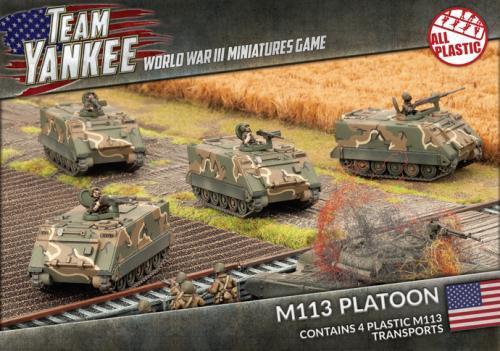M113 / M106 Platoon (x4) (Plastic)