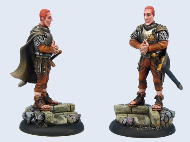 Discworld Miniature Captain Carrot Ironfoundersson (1)