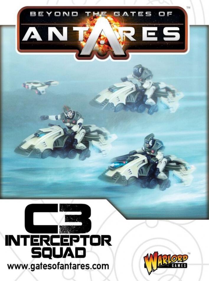 C3 Intercept Squad (3 Bikes)