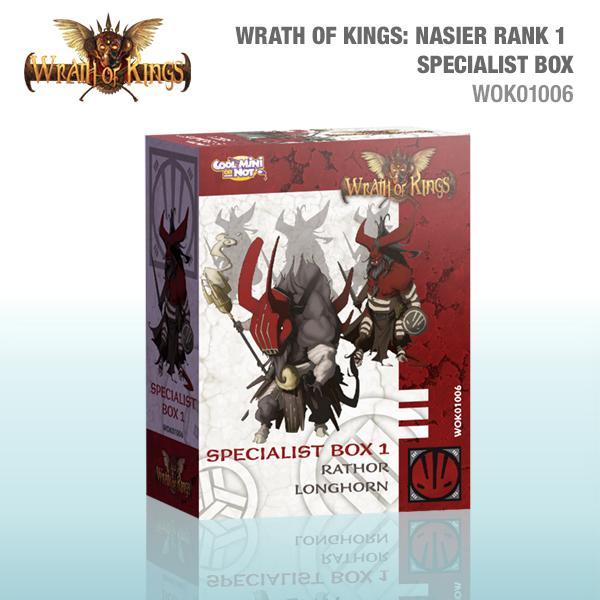 Nasier Rank 1 Specialist Box