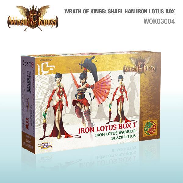 Shael Han Iron Lotus Box