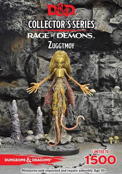 D&D: Rage of Demons: Demon Lord Zuggtmoy (1 Fig)