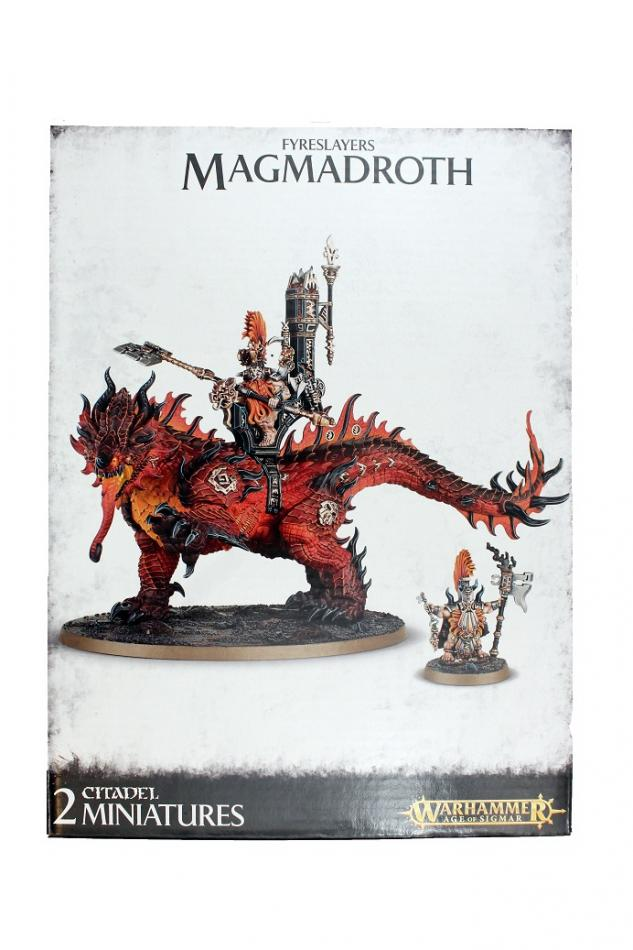 Auric Runefather on Magmadroth / Auric Runesmiter on Magmadroth / Auric Runeson on Magmadroth
