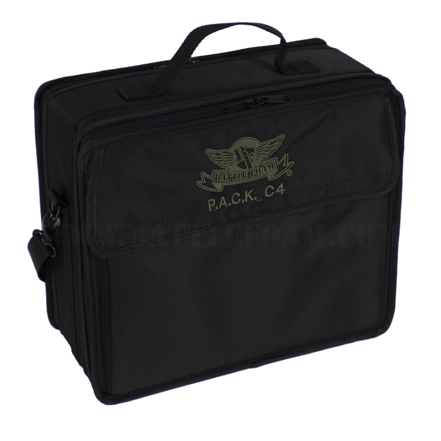 P.A.C.K. C4 Bag 2.0 Settlers of Catan Load Out (Black)