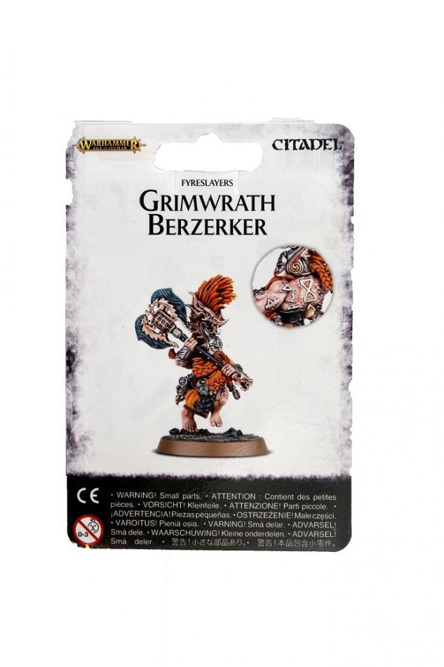 Fyreslayers Grimwrath Berzerker
