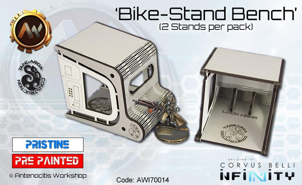 Tangaroa Bike Stands (MDF)