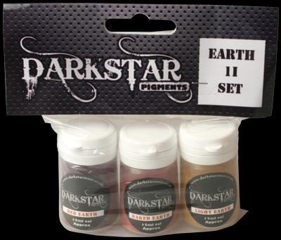 Darkstar Pigments Earth II Set of 3