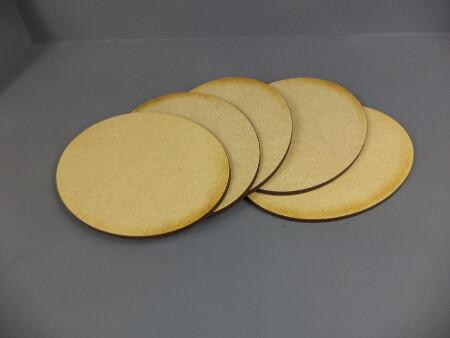 5 x 120mm x 95mm Oval Bases