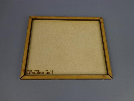 20 x 20mm Movement tray (5x4)