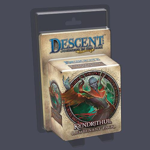Descent 2nd Ed: Kyndrithul Lieutenant Pack