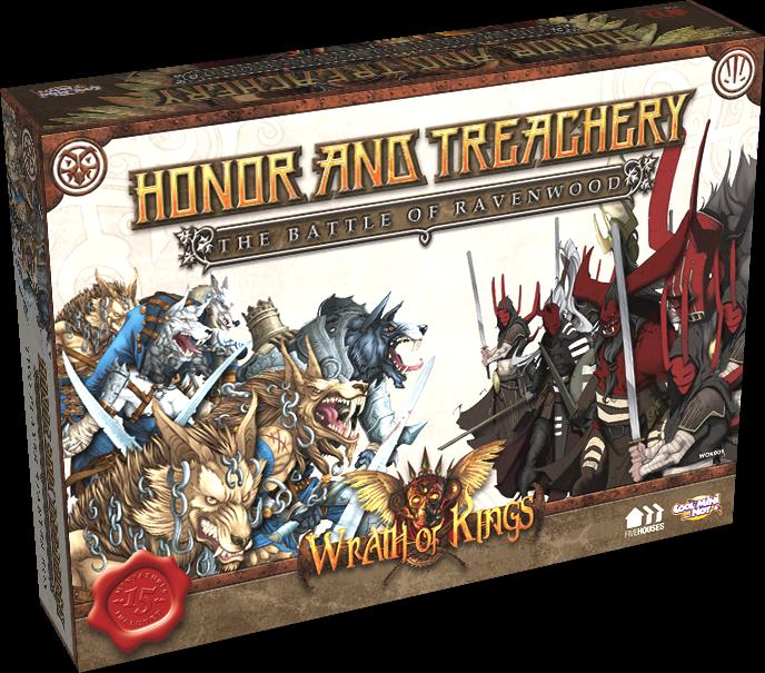 Wrath Of Kings 2 Player Starter Set - Honor and Treachery: Battle Of Ravenwood
