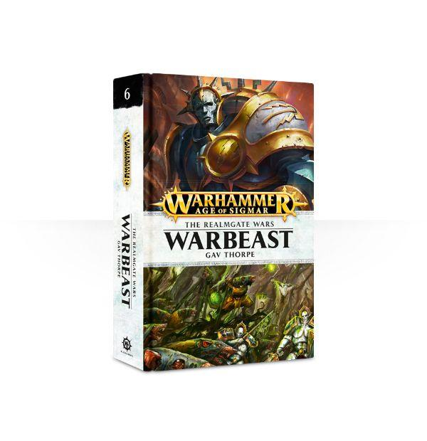 The Realmgate Wars 6: Warbeast (Hardback)