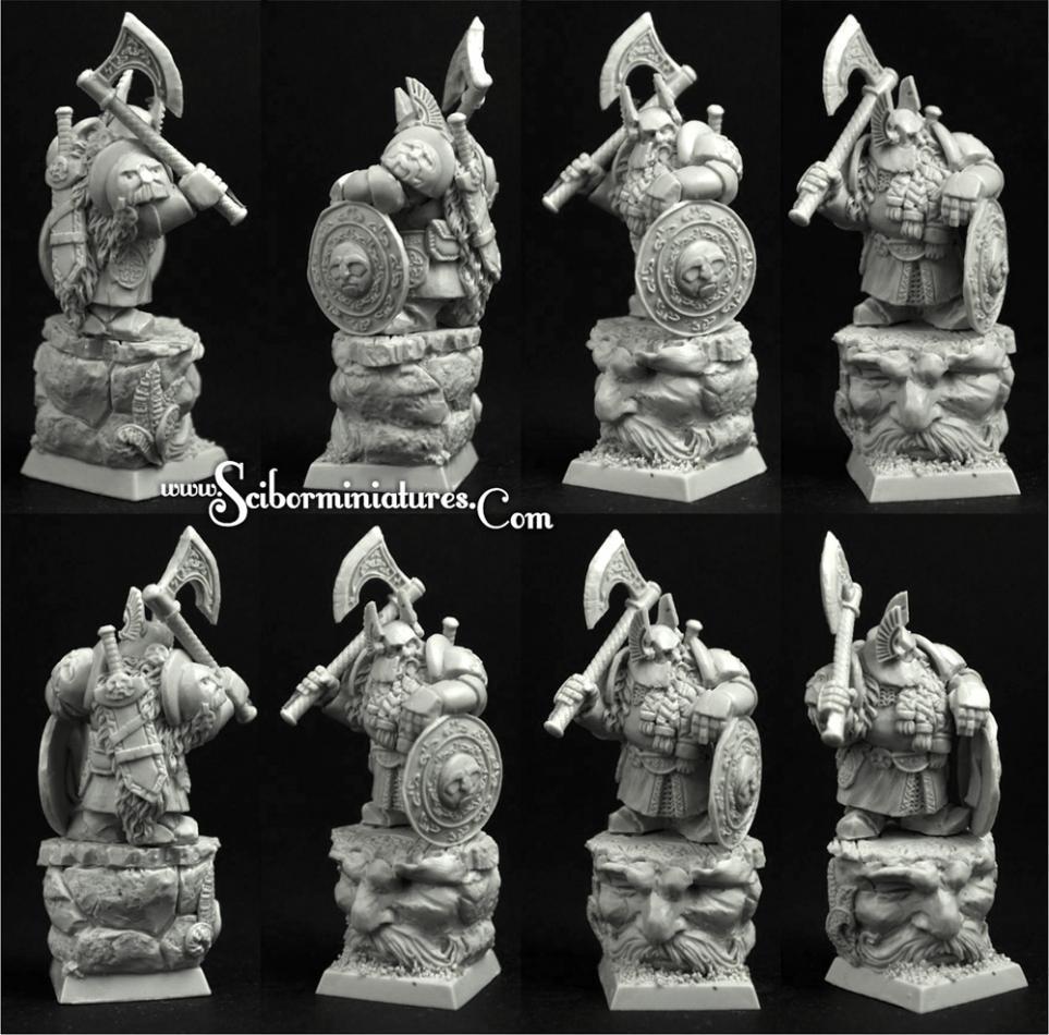 28mm/30mm Dwarf Lord Gildri