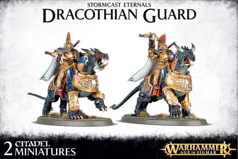 Dracothian Guard Fulminators / Concussors / Lord-Celestant on Dracoth / Desolators / Tempestors