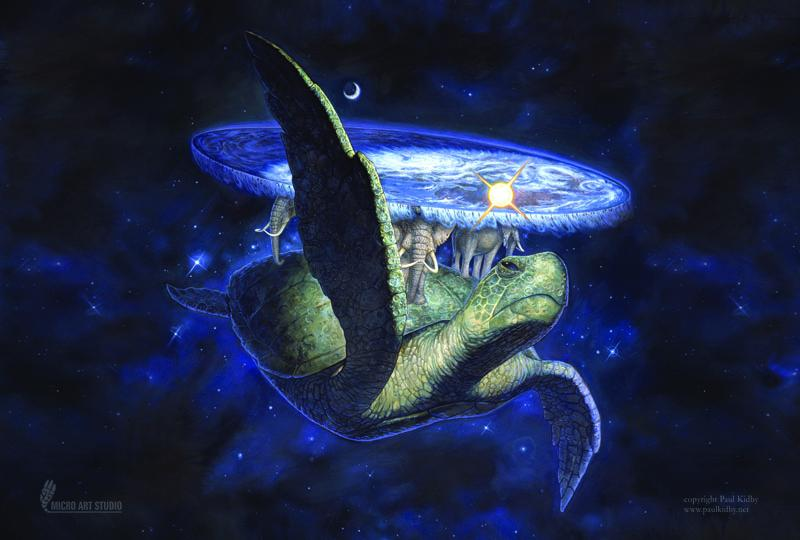 Card Game Mat - 60x40cm - Great A'Tuin