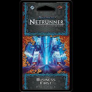Business First Data Pack: Netrunner LCG