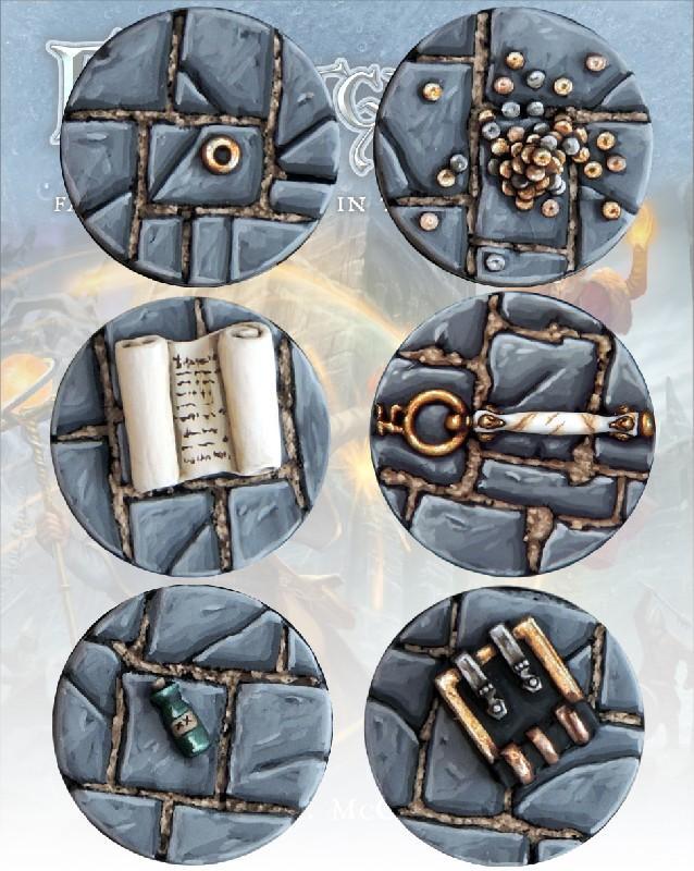 Frostgrave Resin Treasure tokens