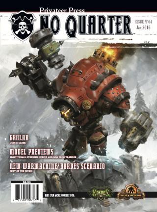 No Quarter Magazine Issue # 64
