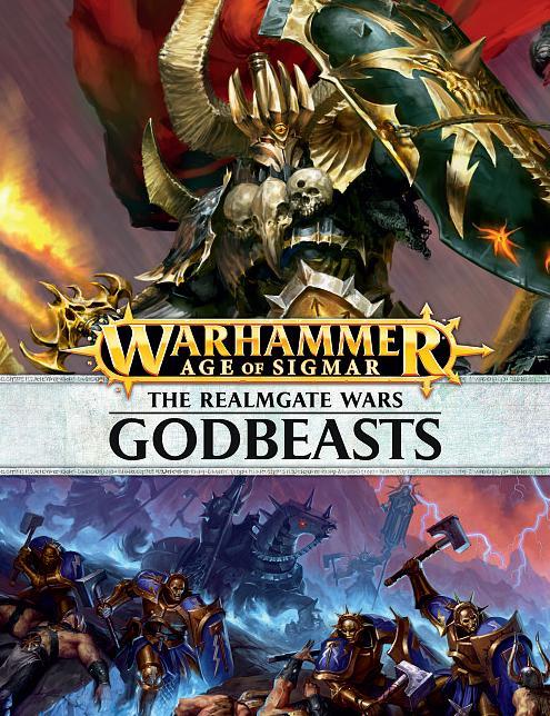 Realmgate Wars 3: Godbeasts (Hardback) (English)