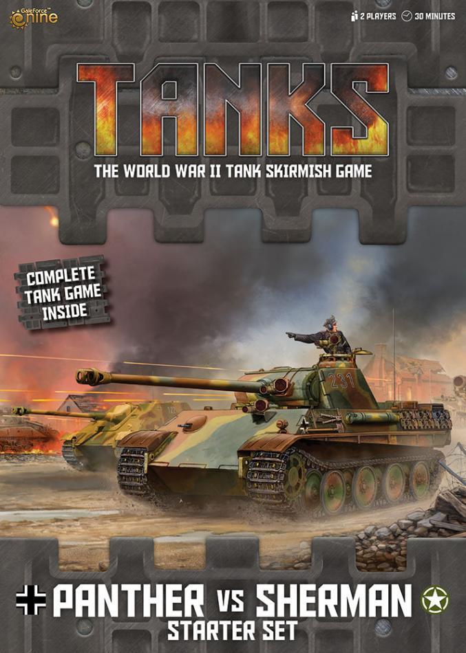 TANKS Starter Set - Panther Vs Sherman