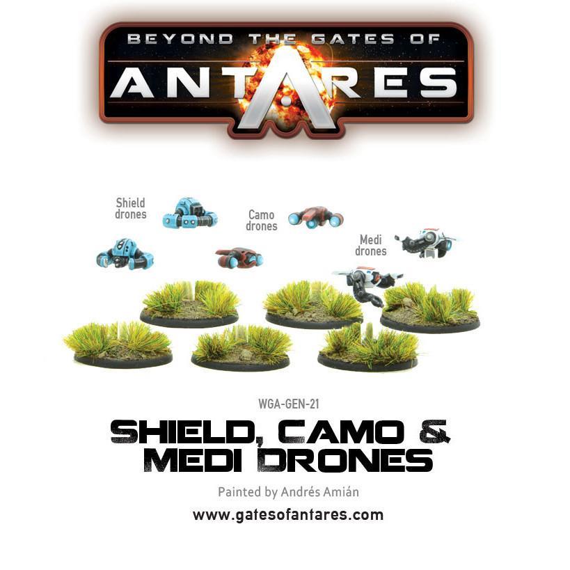 Shield, Camo and Medi Drones