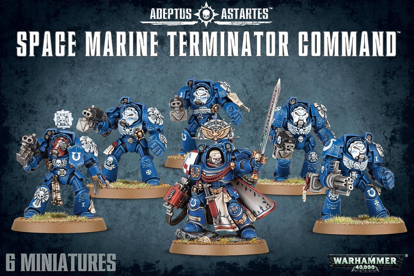 Space Marine Terminator Command