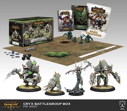 Cryx Battlegroup (plastic)