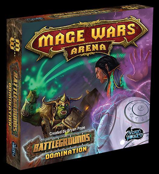 Mage Wars Arena Battlegrounds: Domination