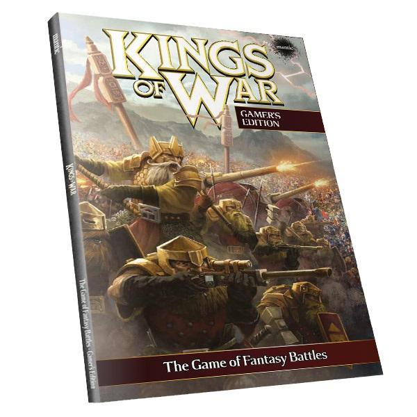 Softback: Kings of War 2nd Edition Rulebook