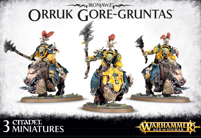 Ironjawz Orruk Gore-gruntas