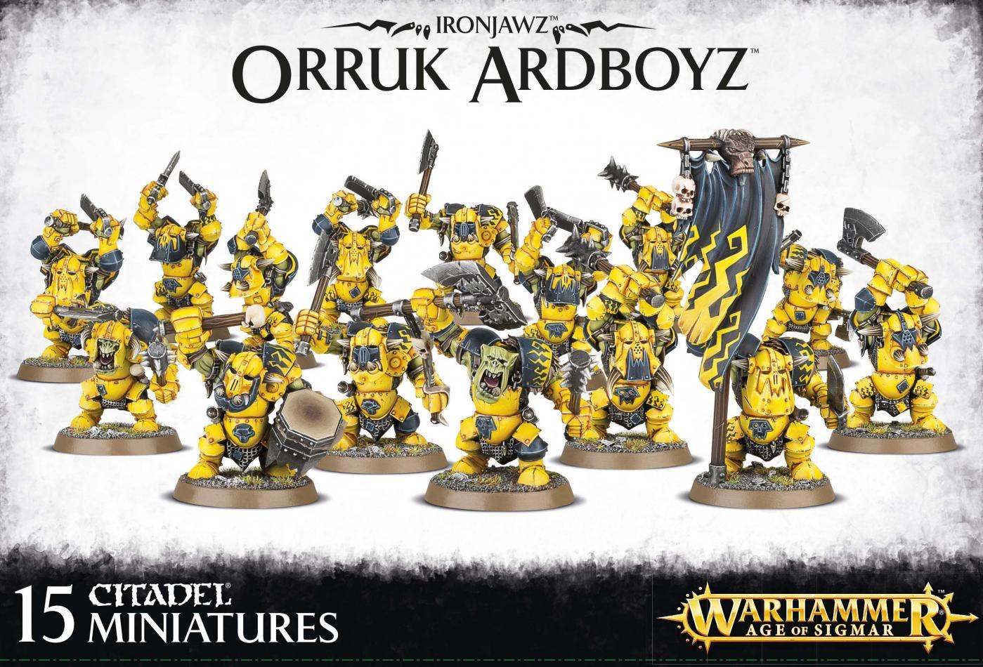 Ironjawz Orruk 'ardboyz