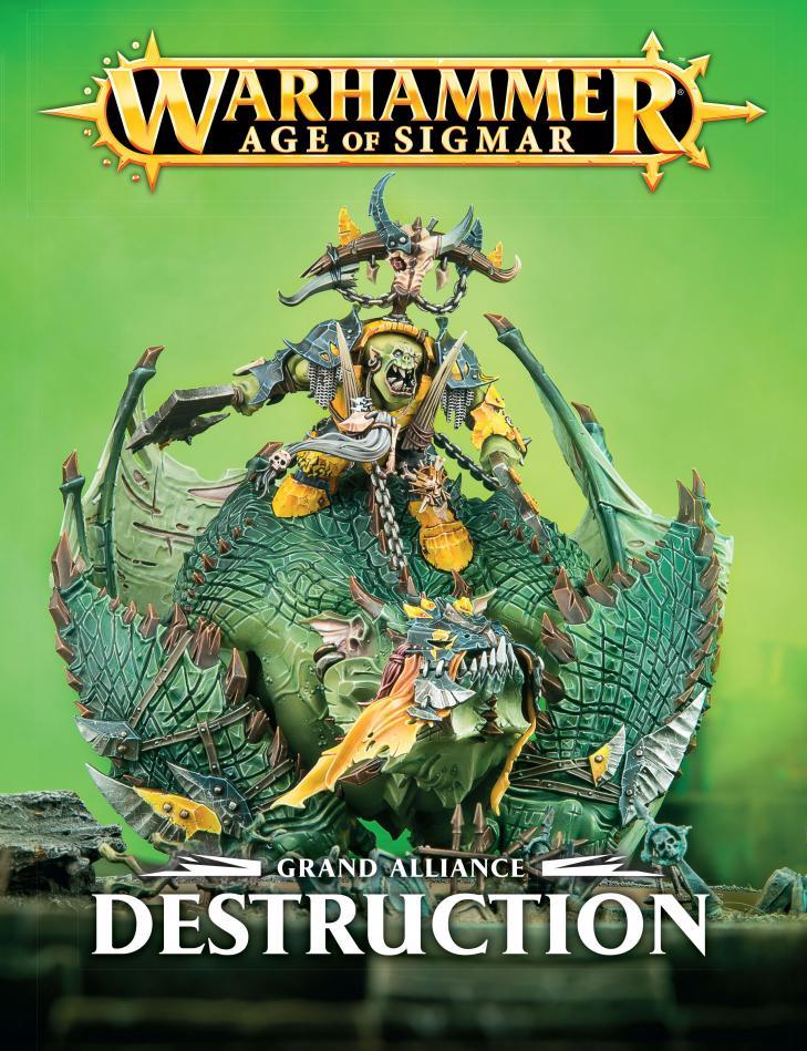 Grand Alliance: Destruction (English)