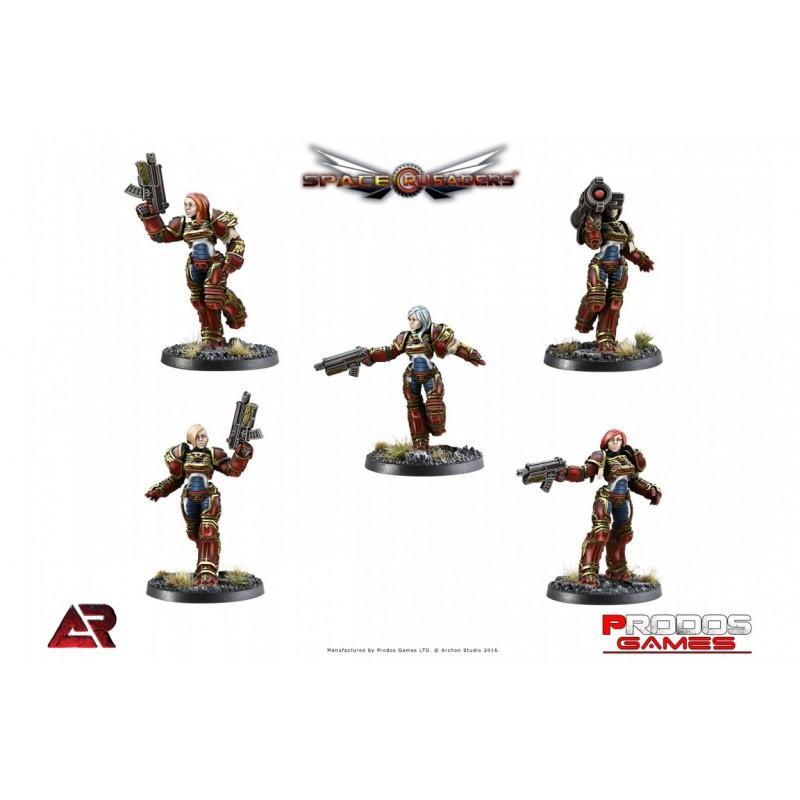 Armoured Crusaders PG13
