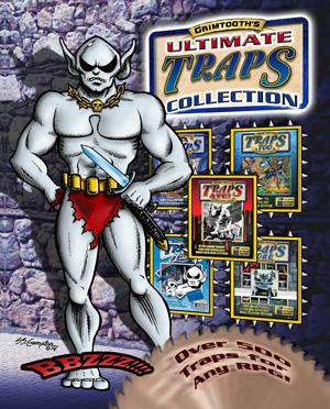 Grimtooth's Ultimate Traps Collection - Hardback (System Neutral Sourcebook)
