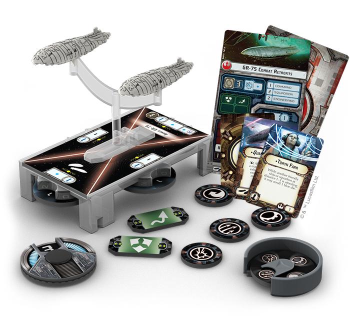 Star Wars Armada - Rebel Transports Expansion Pack