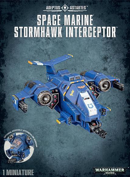 Adeptus Astartes Stormhawk Interceptor
