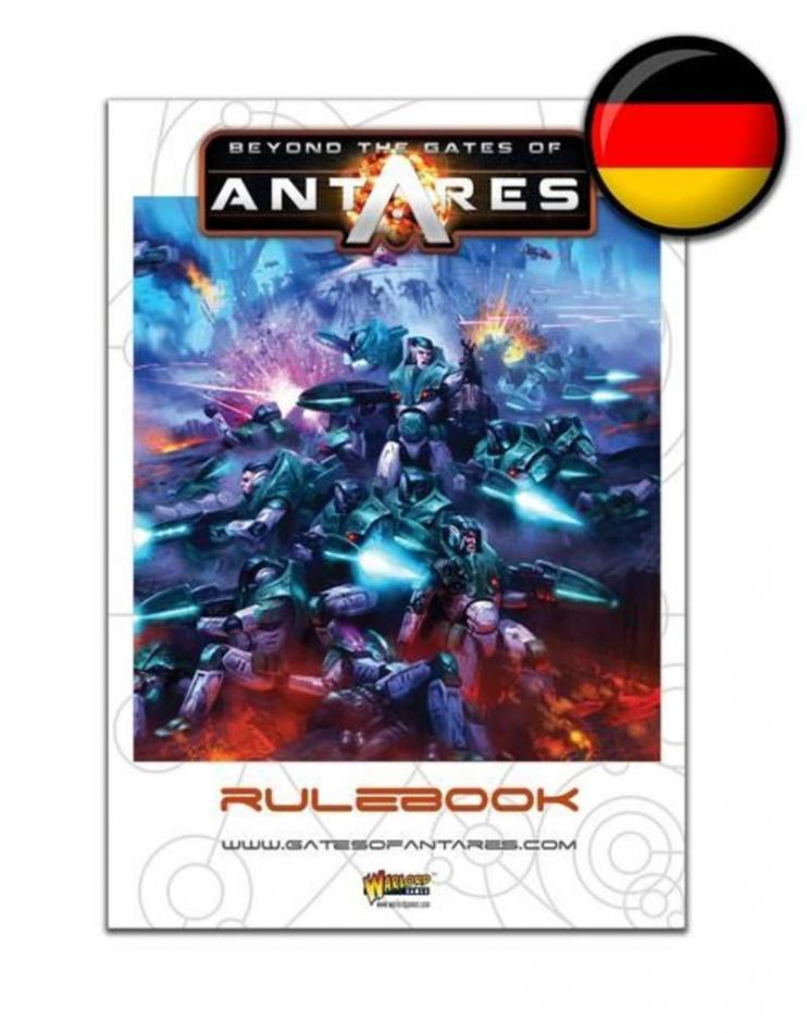 Beyond the Gates of Antares Rulebook - German Edition