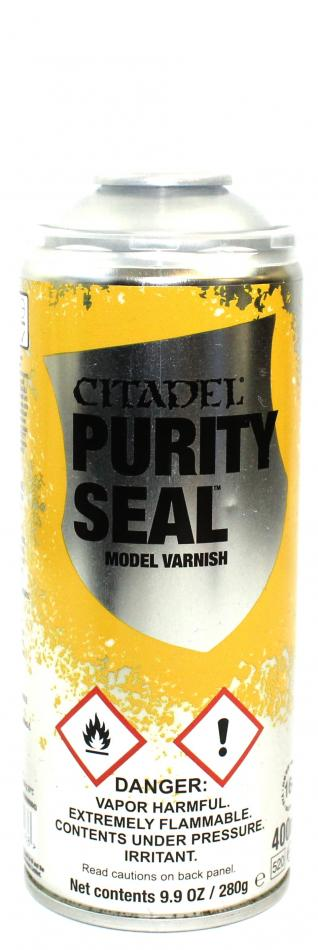 Purity Seal Satin Varnish Spray