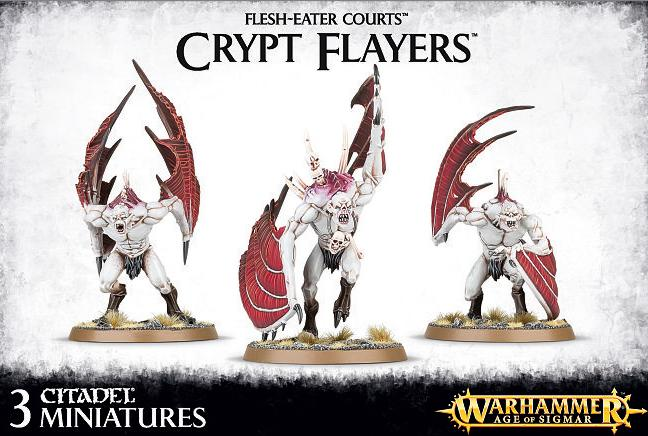 Flesh-Eater Courts Crypt Flayers / Horrors / Vargheists