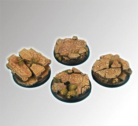 Ruins 40mm roundedge Bases