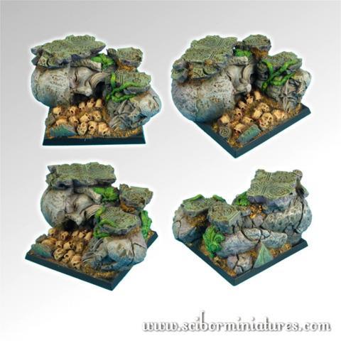 Dwarven Ruins 50mm Square Bases (1)