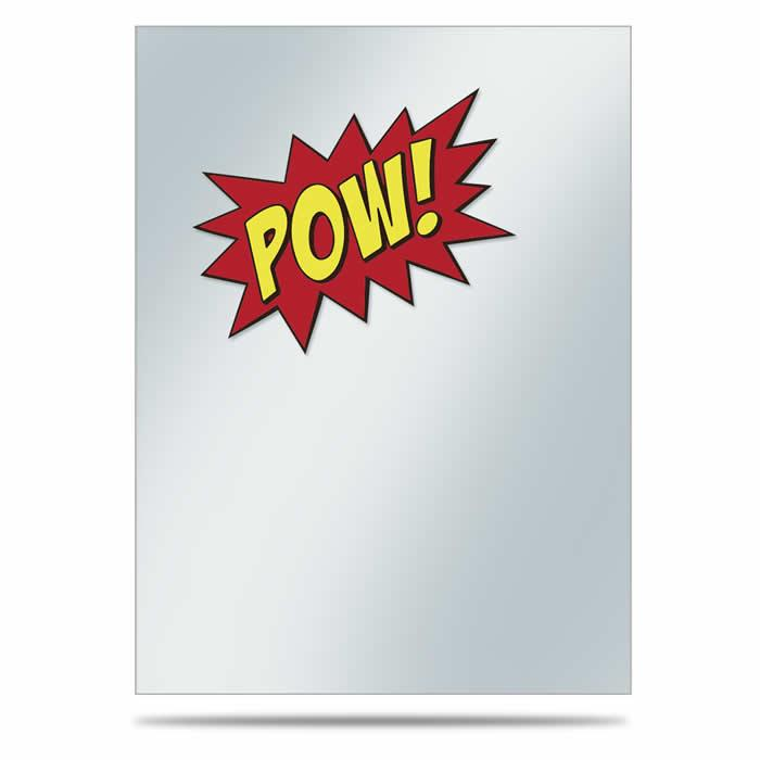 POW!: Printed Deck Protector Sleeve Covers